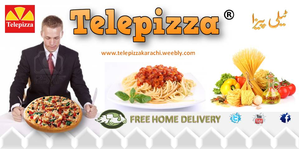 telepizza pizza delivery in Karach