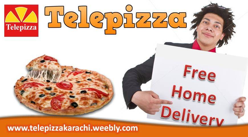 Telepizza Pizza home delivery in Karachi
