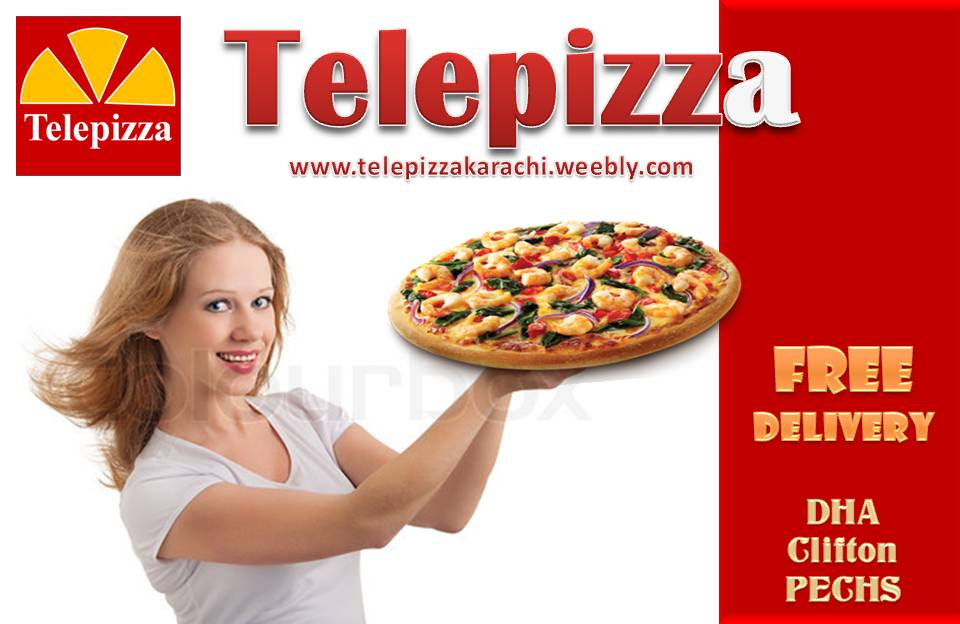 telepizza pizza restaurant in Karachi