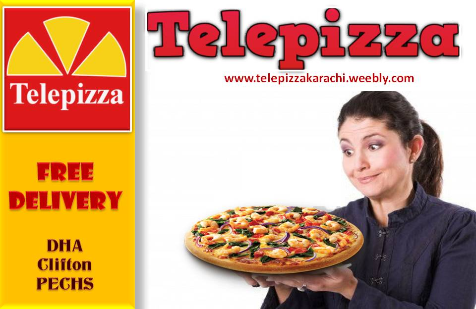 telepizza pizza home delivery in Karachi image